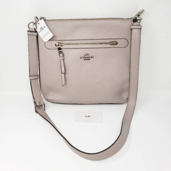 Coach Handbags - Brand New Coach Leather Crossbody Bag MSRP $325